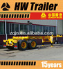 China manufacture 40-foot container loading skeletal chassis truck trailer for sale
