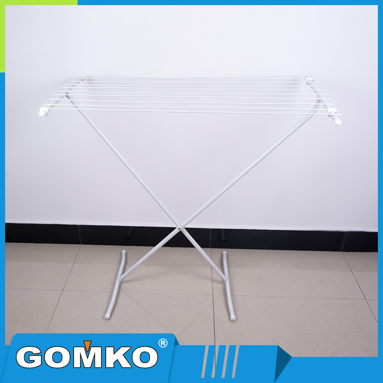 Powder coating pipe bedrooms clothing garment rack with ABS connectors