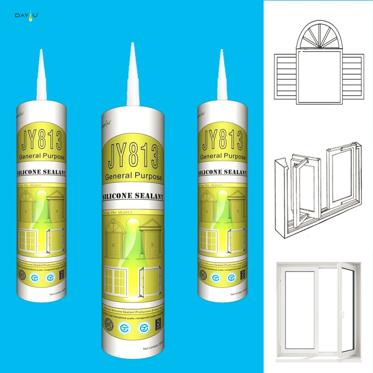 JY813 multi purpose China quality binding general sealant for insulated glass