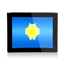 Stock products 15 inch Fanless industrial touch panel pc Intel 1.6GHz quad Core All in One PC