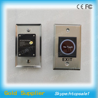 12V No touch Infrared push button exit button with NO/NC/COM