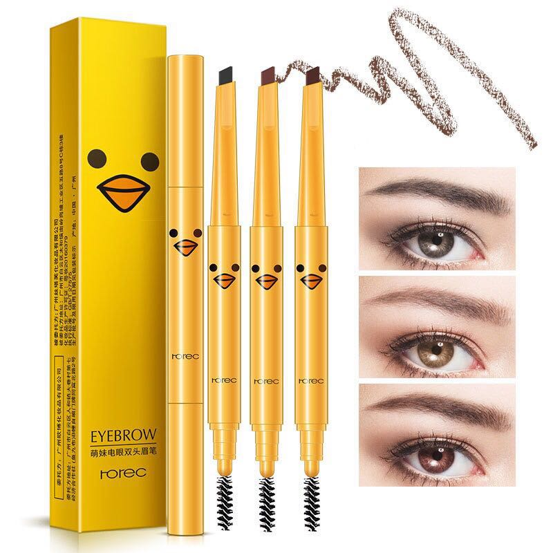 Waterproof Free Sample Beauty Product Dual Eyebrow Kit Pencil