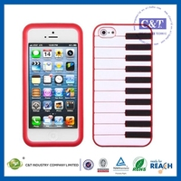 C&T 2014 new hot products for iphone 5 silicone bumper case