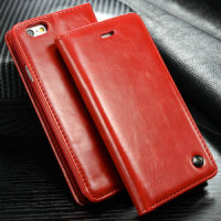 Caseme wallet case for iphone 6, Magnetic Flip Book Leather Case for iPhone 6 leather wallet