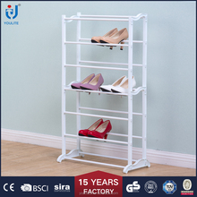 tall plastic storage shoe rack