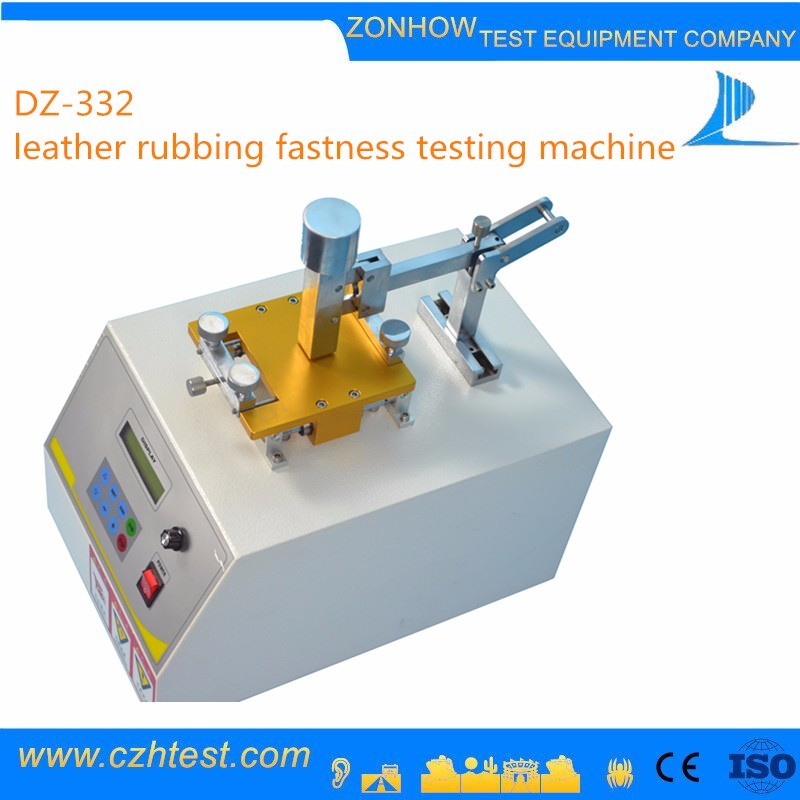 High-performance IULTCS Leather Rubbing Fastness Testing Equipment for Sale