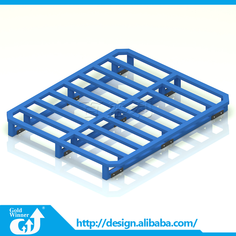 Customized warehouse storage heavy duty stainless steel pallet rack