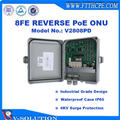 PACPON Reverse PoE ONU 8FE Ports GEPON MDU PoE Switch for FTTH/FTTC/FTTB Network Solutions
