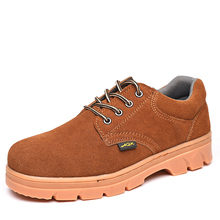 HFR-TS51033 Autumn buffalo safety shoes for construction workers