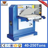 hydraulic leather gold foil embossing machine