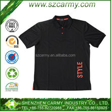 Cheap and comfortable 100% cotton short sleeves shirt polo