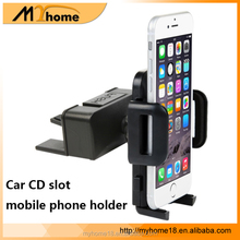 2 in 1 Function car air vent CD slot mount holder stand 360 degree rotating phone holder for smartphone
