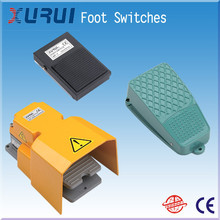 electric foot pedal switch / foot switch for press brake / 10a 250vac 1nc1no metal foot switch