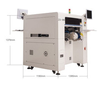 High performance 6 heads smd led chip mounter ZS-06 pick and place machine for led bulb lamps production line