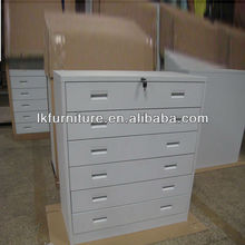 Metal Type CD Drawer With 6 or 8 Drawers