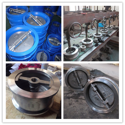 Single disc wafer type lift check valve