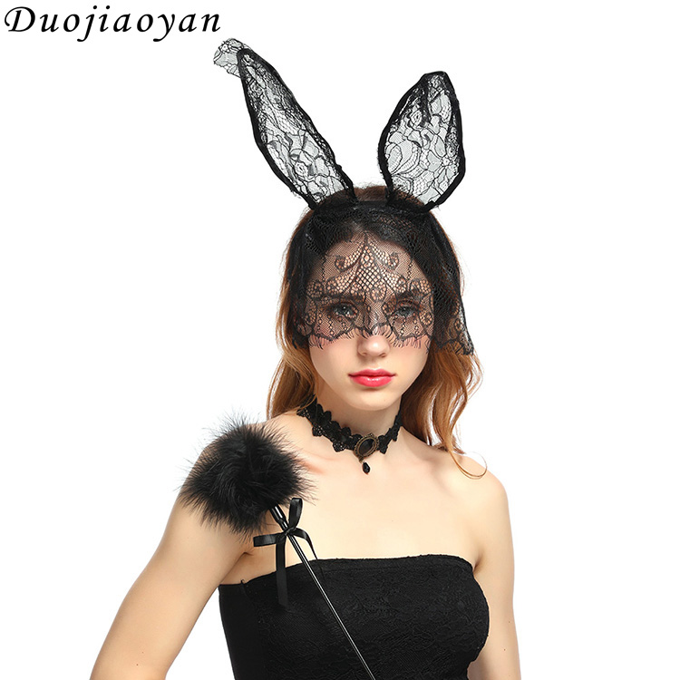 Hot Sale u003cstrongu003eCostumeu003c/strongu003e Hairband Sexy Lace Bunny u003cstrong  sc 1 st  Alibaba Wholesale & Wholesale rabbit girl costume - Online Buy Best rabbit girl costume ...