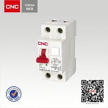 Over Current Protection YCB7LN-40 id rcd residual current circuit breaker/rccb