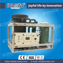 ICESTA newly edible PLC controlling ice tube plant design 10t/24hrs