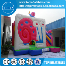 TOP INFLATABLES Brand new used party jumpers for sale bouncy castle air pumps bouncer slide inflatables with high quality