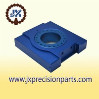 Blue anode pneumatic switch high quality aluminium alloy CNC machine processing precision custom parts