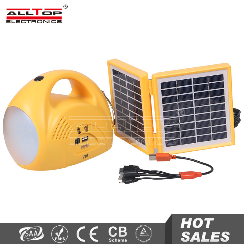High brightness outdoor ip65 rechargeable camping led solar lantern
