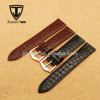 100% Crocodile Alligator Genuine Leather Watch Strap