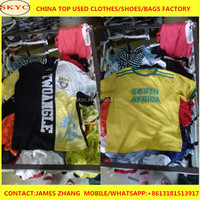 Bulk used clothing for sale in China factory