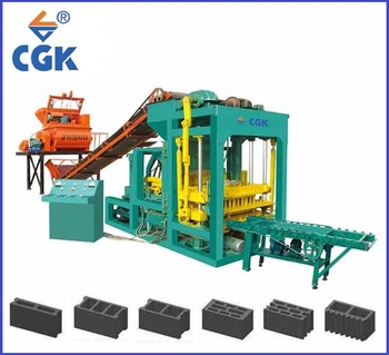 CGK ready house production line brick building machine gobal bricks manufacturing process 4-25 Price in Africa