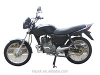 Motorcycle Chinese Motorcycles Gas/Diesel Moped With Pedals Motorcycles For Sale KM150CG