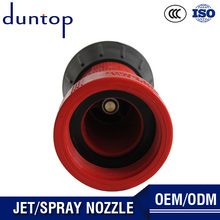 OEM Spray Nozzle Fire Hose High Pressure Water Spray Gun For Fire Fighting