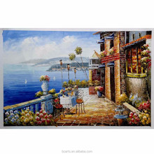 Beautiful seaside house flower garden decorative bathroom pictures