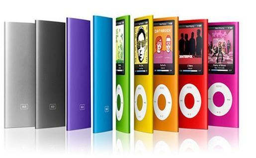 8GB Ultra Slim Mp3 Mp4 MP5 with LCD Screen FM Radio Camera Video Movie Player 4th generation mp4