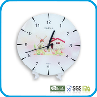 Tempered Glass promotional wall clock