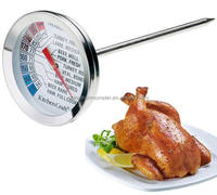 Meat Thermometer Stainless Steel Food Cooking BBQ Meat Steak Probe