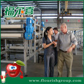 turnkey project automatic fresh apple juice processing line