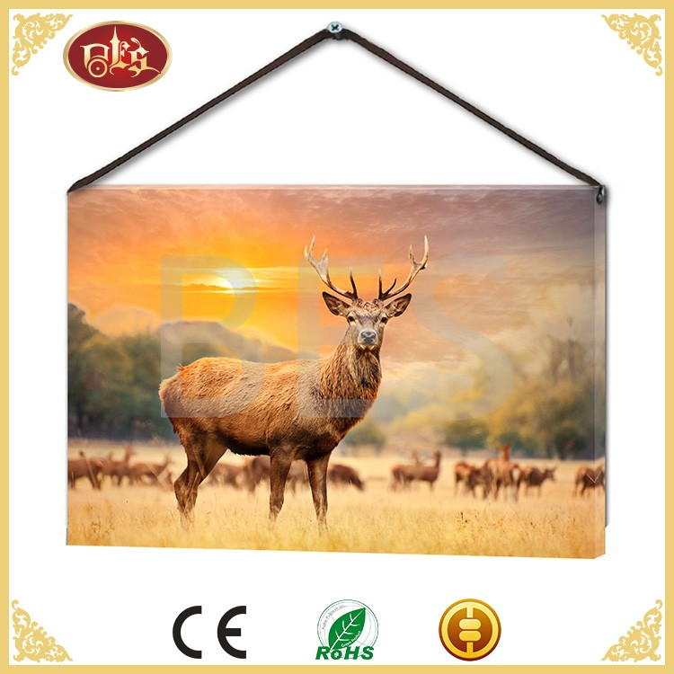 decoration adornment wall picture of animal