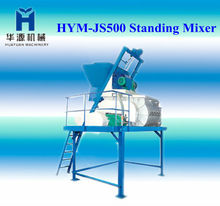 sawdust block making machine HYM-JS500 concrete mixer