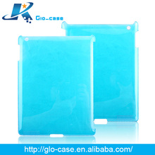 2014 Glossy Colorful Plastic Case for iPad accessories