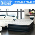 PVC&flock inflatable air bed,queen size double bed