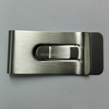 Titanium Metal Money Clip, Alibaba wholesale Titanium Money Clip 55mm