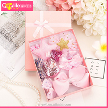 New arrival 10 gift sets classical princess kids wholesale hair accessories