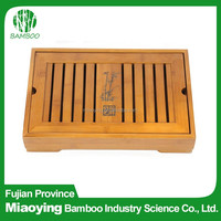 Antique Bamboo Tea Tray for Hotel Table