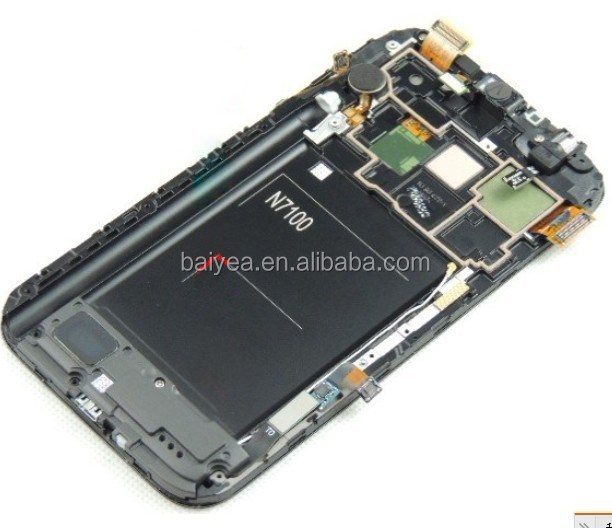 For Samsung Galaxy note 2, I605, I317, L900, R950, N7105, N7100 LCD Digitizer Full Assembly