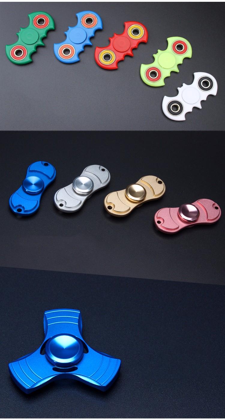 Roman Point résistance à L'usure essieu jouets main spinner et doigt spinner