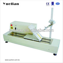 High speed peeling and coefficient of friction test equipment machine bench