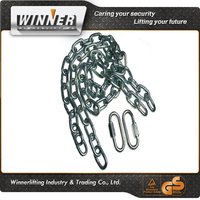 Brinks 3020-037-2T 36'' Safety Chains with 2 Quick Links (pair) Class III