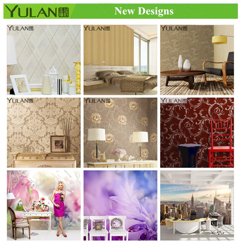 Geometric Pattern Wallpaper Modern Design PVC Wall Paper