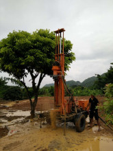 JDL-200 model DTH air water well drilling rig
