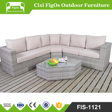 Houston Grey Mixed Best Choice Products Outdoor Patio Garden Furniture Wicker Rattan Sofa Set